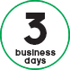 03 business days
