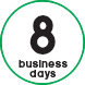 08 business days